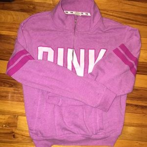 Pink by Victoria Secret zip up hoodie